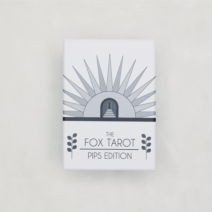 The Fox Tarot + Guidebook: Pips Edition