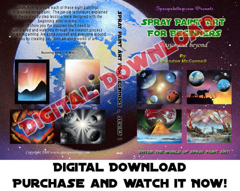 Spray Paint Art For Beginners (Digital Download)