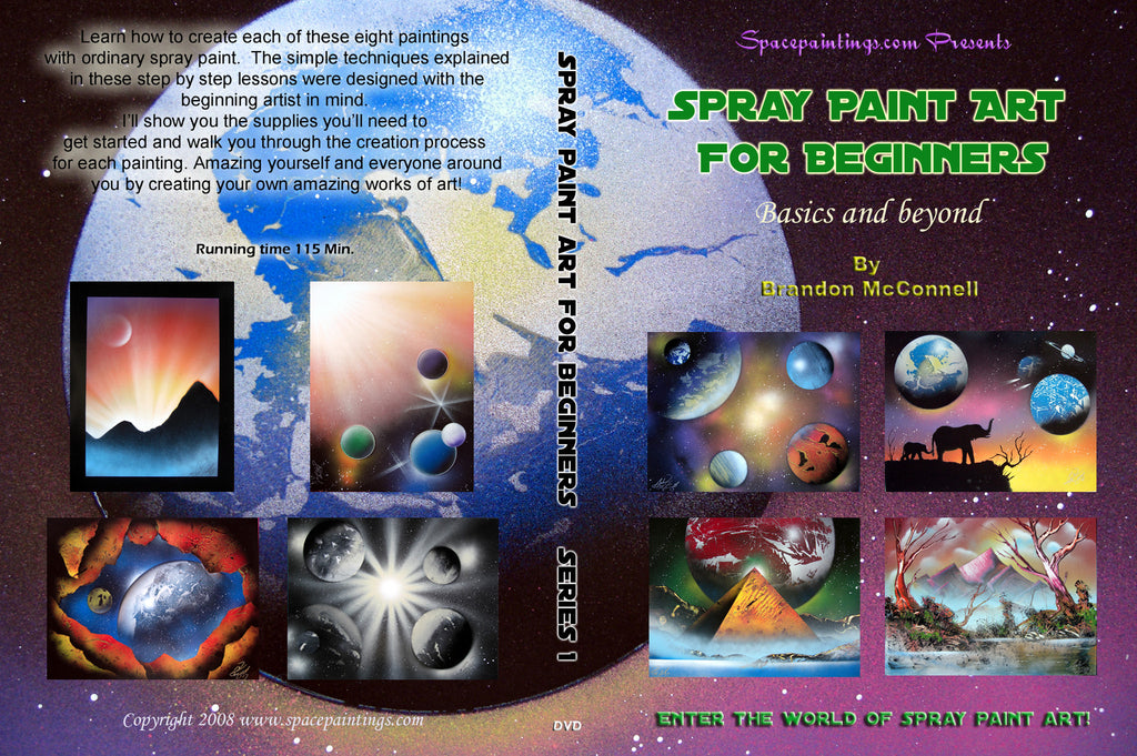 Spray Paint Art For Beginners DVD