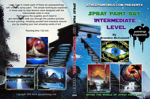 Spray Paint Art Intermediate Level DVD