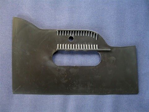 3 Sided plastic straight edge tool