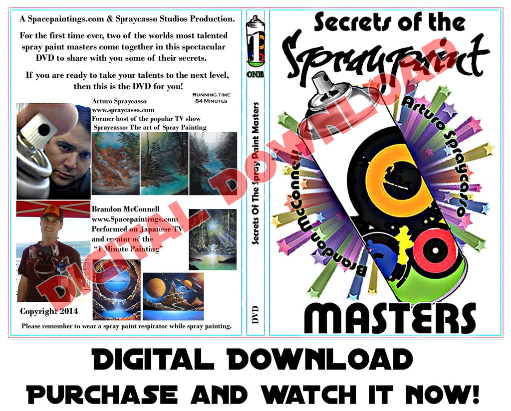 Secrets Of The Spray Paint Masters (Digital Download)
