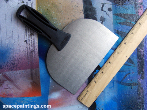 "6"" (15.24 CM) Metal straight edge tool"