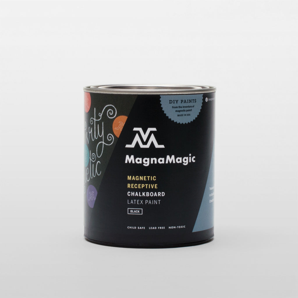 OUT of STOCK: MagnaMagic Magnetic Receptive Chalkboard Paint