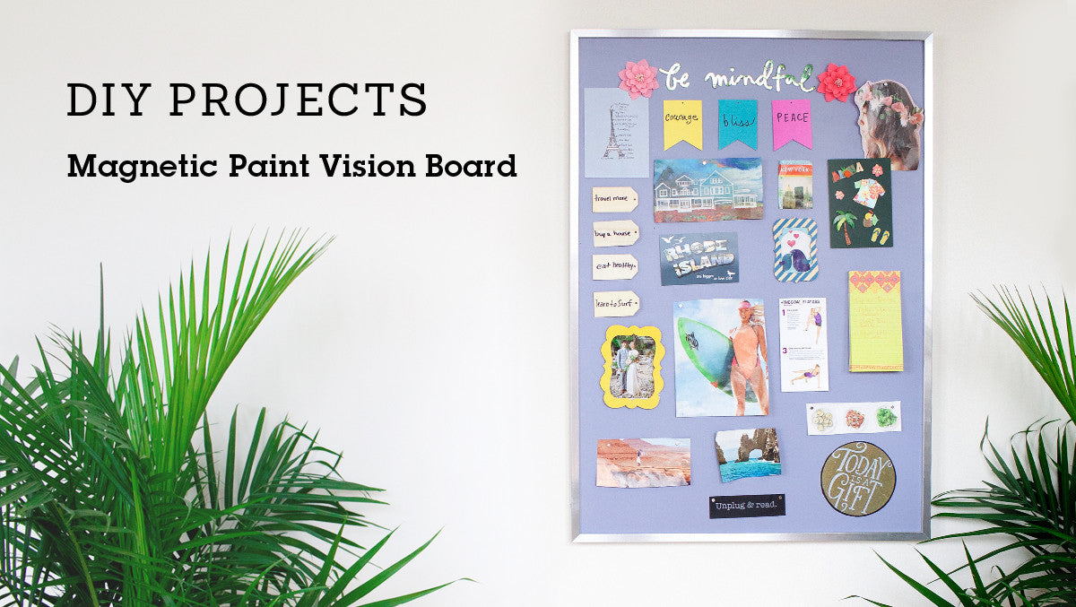 Magnetic Paint Vision Board