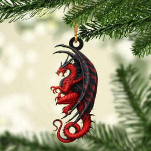 DRAGON CAR HANGING ORNAMENT-MTN24