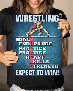 Wrestling Success Canvas Gallery Wrapped Canvas Prints