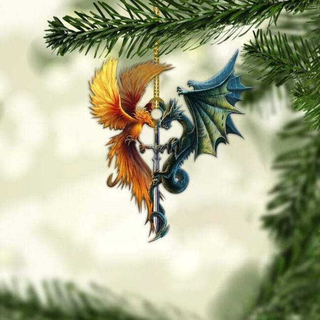 DRAGON CAR HANGING ORNAMENT-MTN037
