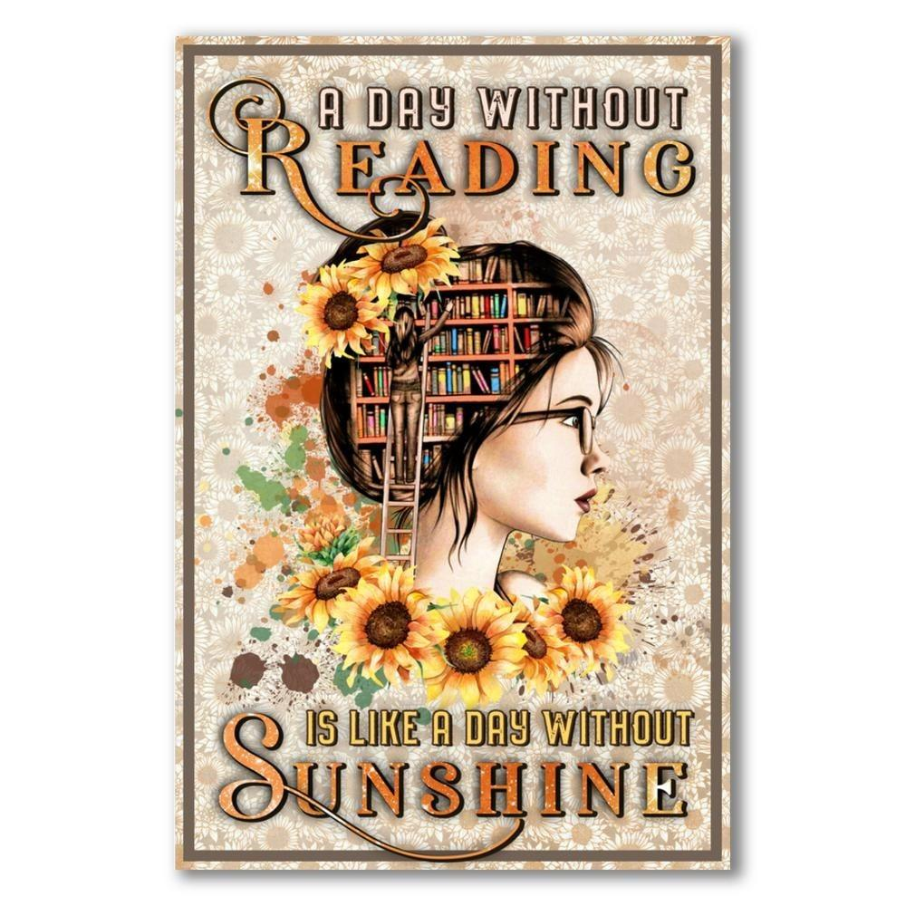 A day without Reading is like a day without Sunshine