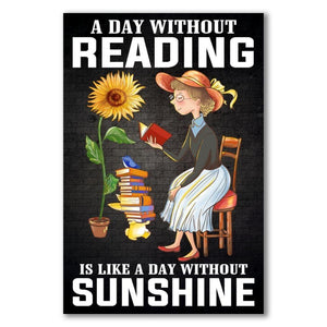 A day without Reading is like a day without sunshine 2
