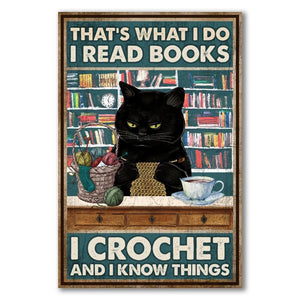 I Read Books - I Crochet and I Know Things