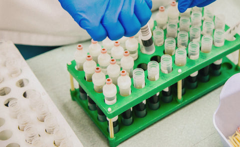 A scientific lab test for nutritional supplements
