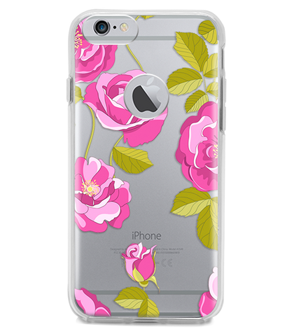 Funda para Celular (Hard 360) Purple Flowers
