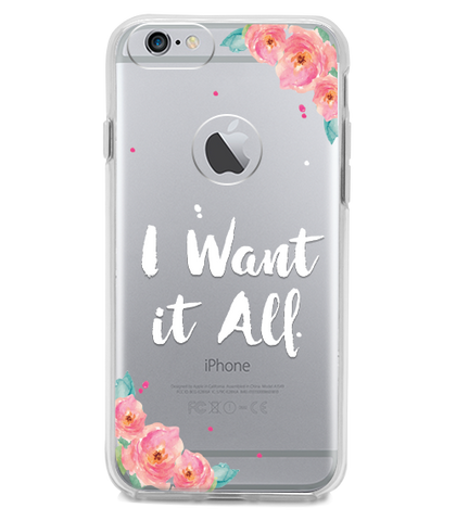 Funda para Celular (Hard 360) I want It All