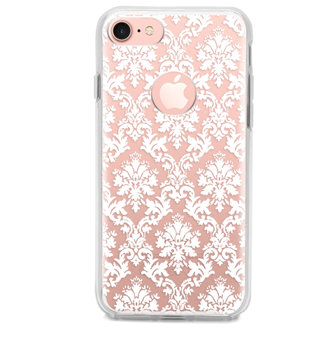 Funda para Celular (Hard 360) White Ornament