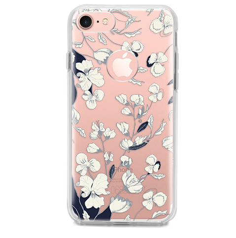 Funda para Celular (Hard 360) Flowers Seamless