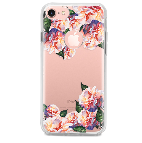 Funda para Celular (Hard 360) Flowers Watercolor
