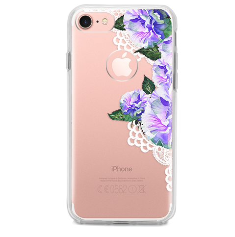 Funda para Celular (Hard 360) Mandalas Flower Purple