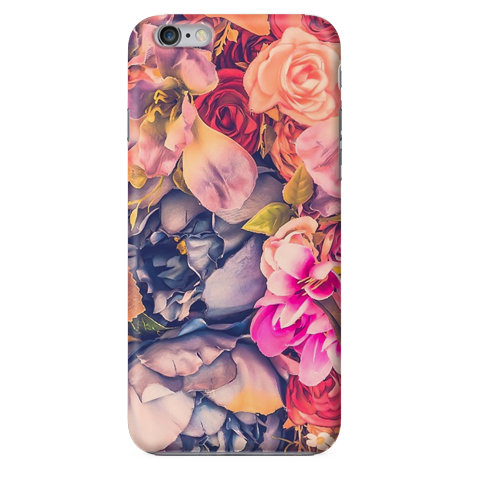 Funda Funda para Celular (Slim) Flowers Collage Vintage - Case Love - 1