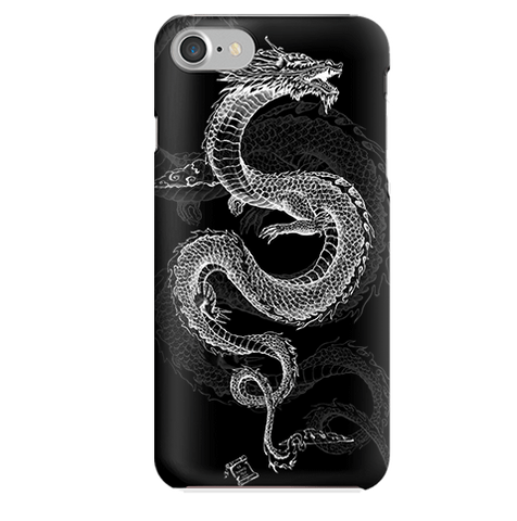 Funda para Celular (Slim) Black Dragon Tattoo