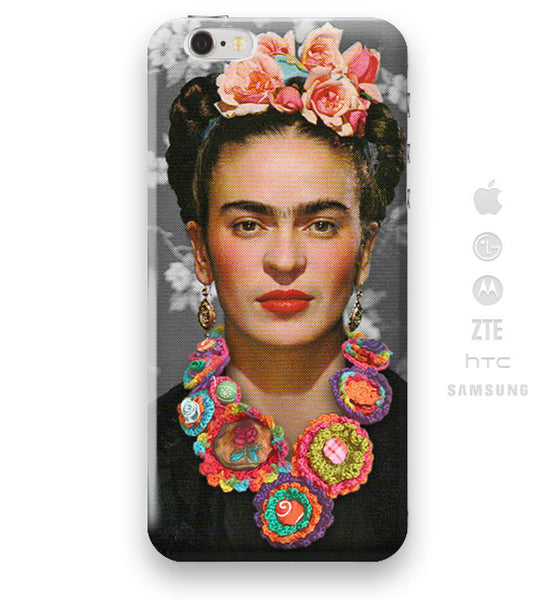 Funda Funda para Celular (Slim) Frida Collar Mexicano - Case Love