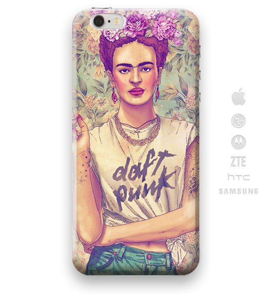 Funda Funda para Celular (Slim) Frida Punk - Case Love