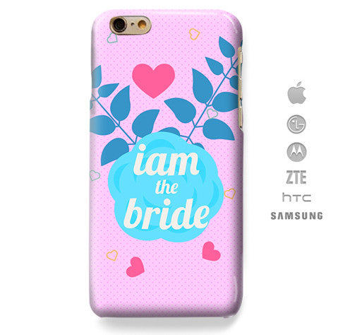 Funda Funda para Celular (Slim) I´m The Bride, bachelorette - Case Love