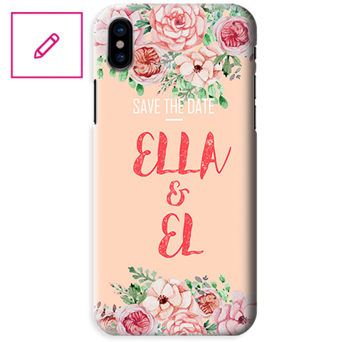 Funda para Celular (Slim) Save the Date - Editable