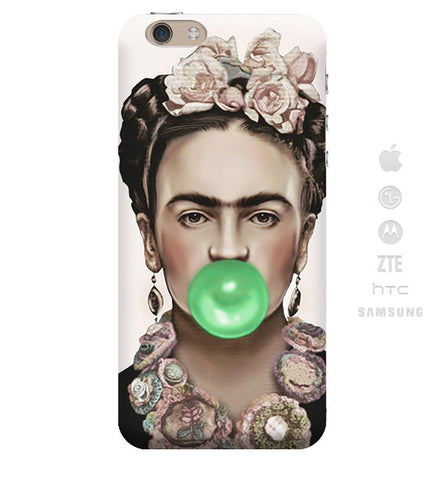 Funda para Celular (Slim) Frida Chicle verde
