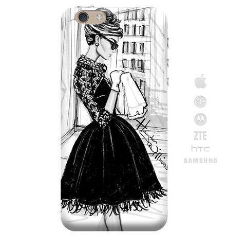 Funda para Celular (Slim) Breakfast with Audrey