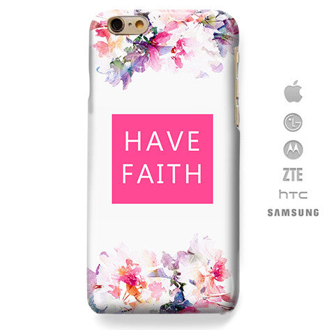 Funda Funda para Celular (Slim) Have Faith - Case Love - 1