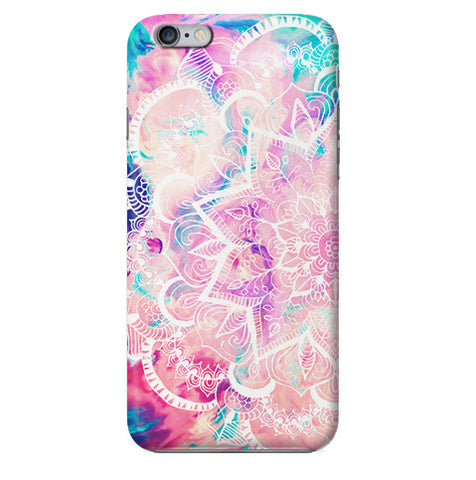 Funda para Celular (Slim) Mándala Watercolors