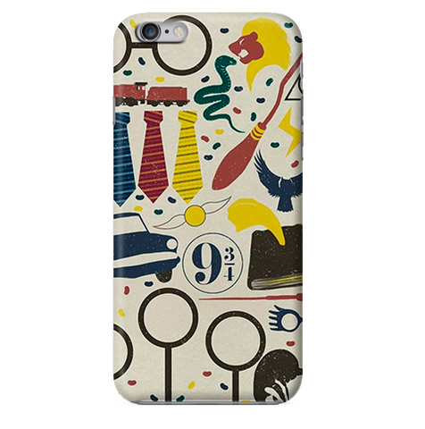Funda para Celular (Slim) Harry Potter (Pattern)