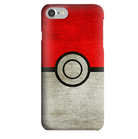 Funda para Celular (Slim) Pokemon (Pokebola)