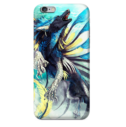 Funda Funda para Celular (Slim)Magic Wolf (fantastic beasts and where to find them) - Case Love