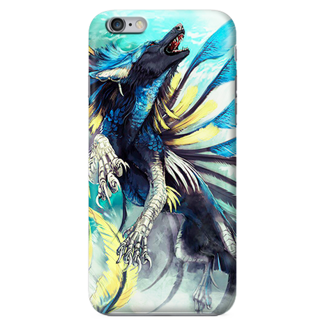 Funda para Celular (Slim)Magic Wolf (fantastic beasts and where to find them)