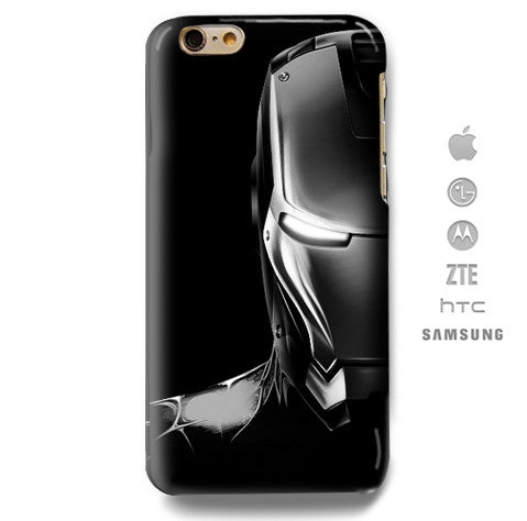 Funda Funda para Celular (Slim) Iron Man Perfil - Case Love - 1