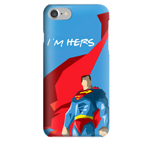 Funda para Celular (Slim) Superman Parejas
