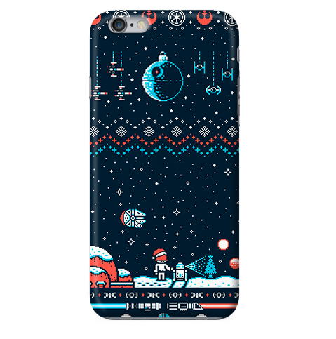 Funda Funda para Celular (Slim) Merry Christmas - Star Wars - Case Love - 1