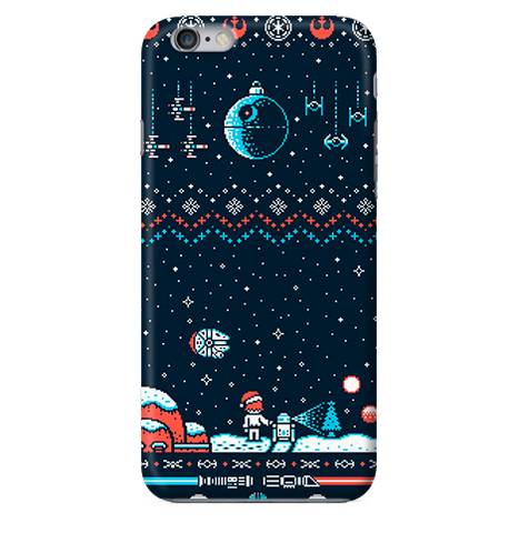 Funda para Celular (Slim) Merry Christmas - Star Wars