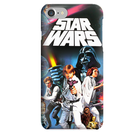 Funda para Celular (Slim) Star Wars Retro