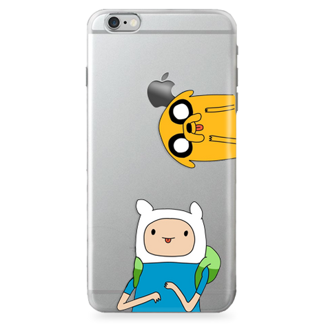 Case Transparente (Jelly) Adventure Time (Funny)