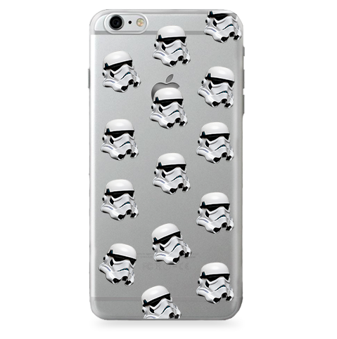 Funda Case Transparente (Jelly) Star Wars - Darth Vader - Pattern - Case Love - 1