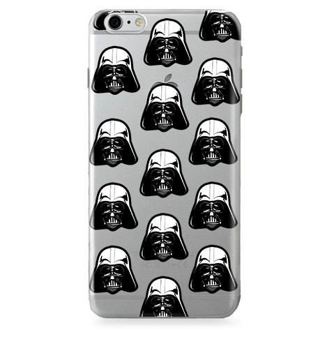 Funda Case Transparente (Jelly) Star Wars - Stormtrooper - Pattern - Case Love - 1