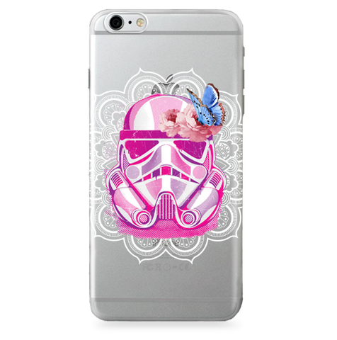 Case Transparente (Jelly) stormtrooper Art