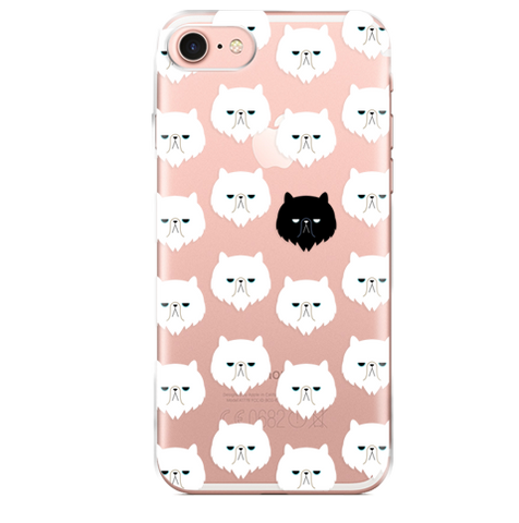 Funda para Celular (Jelly) Pattern Cats