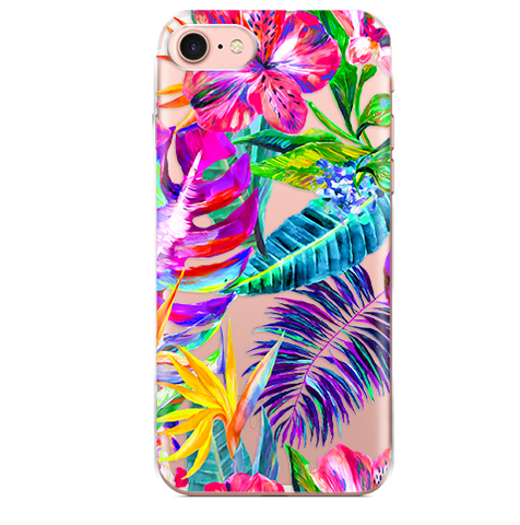 Funda para Celular (Jelly) Summer Art
