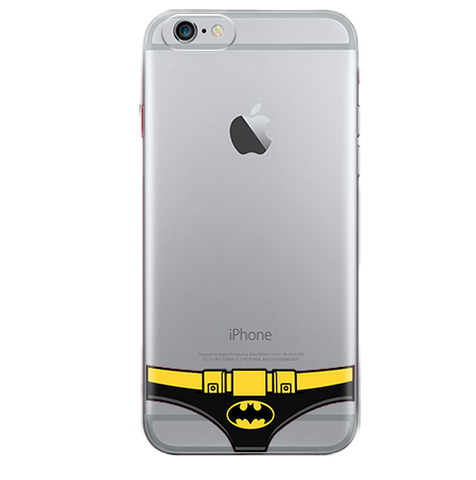 Funda para Celular (Jelly) Briefs Batman