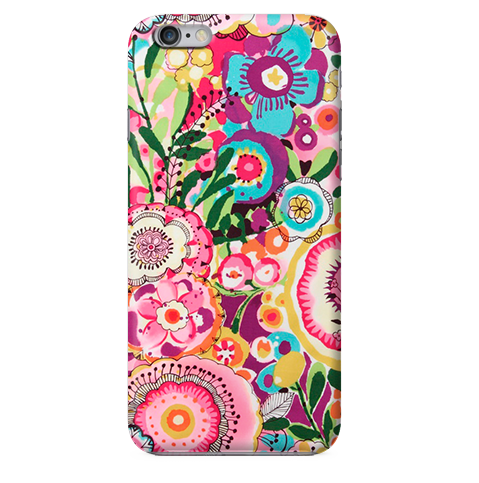 Funda Funda para Celular (Slim) Cute Flowers (Painting) - Case Love - 1