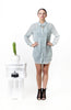 Simplicity Shirt Dress Mint